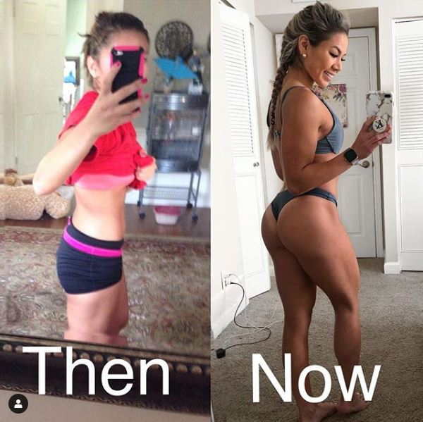 19 Female Body Transformations That Prove This Works. Incredible. 3