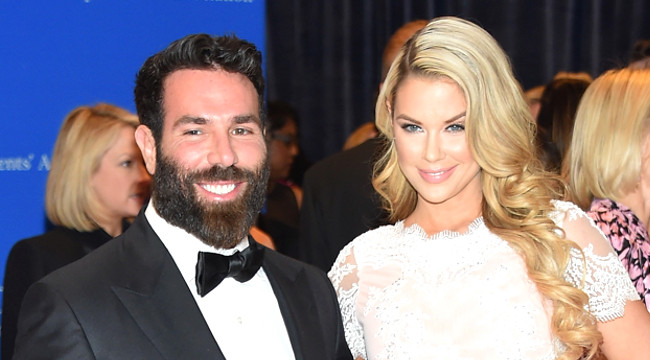 WASHINGTON, DC - APRIL 25: Professional poker player Dan Bilzerian and a guest attend the 101st Annual White House Correspondents' Association Dinner at the Washington Hilton on April 25, 2015 in Washington, DC. (Photo by Michael Loccisano/Getty Images)