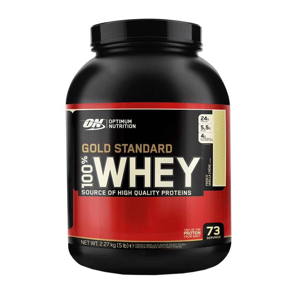 Image showing Gold Standard Whey protein supplement for women