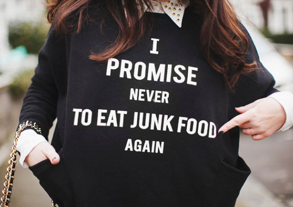 Never Eat Junk Food