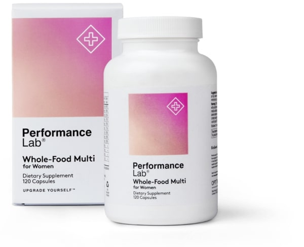 Performance labs whole-food multi for women