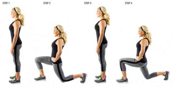 Reduce-thigh-size-fast-at-home-lunges