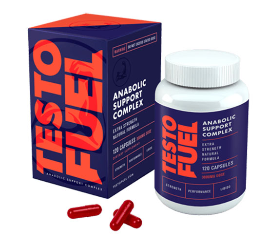 TestoFuel bottle and box showing it as the best testosterone booster for women
