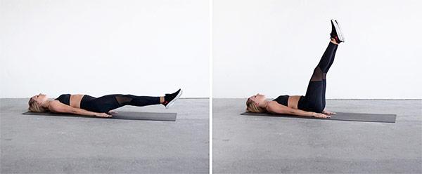 best-exercise-for-flat-stomach-lying-leg-raise