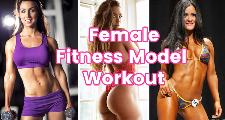 Photo of Female Fitness Model Workout