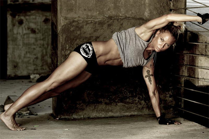 a picture of ashley conrad one of the best female fitness youtubers