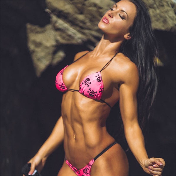 a picture of the best female fitness youtubers katie schaffert