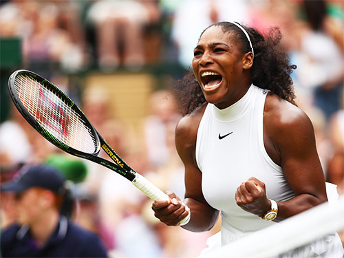 one of the most inspirational female athletes serena williams