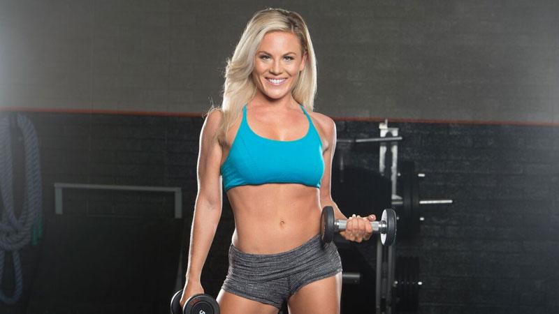 Niki Zager female fitness trainer