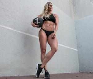 F45 athlete Paige Hathaway
