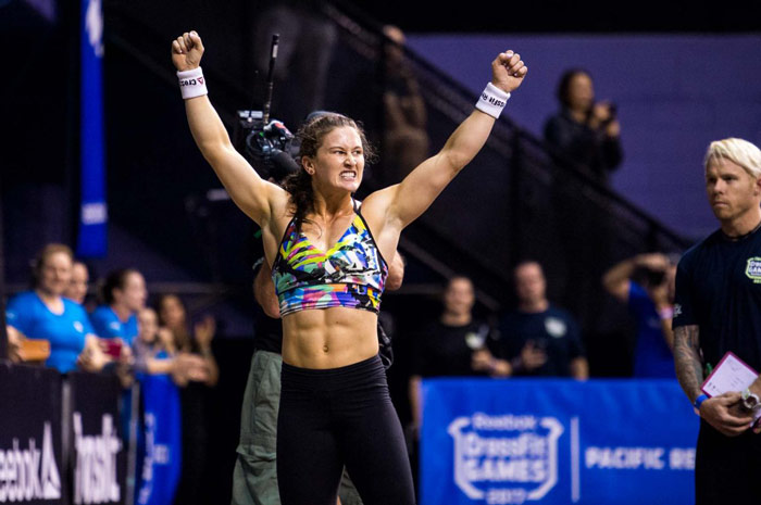Tia Claire Toomey at the CrossFit games
