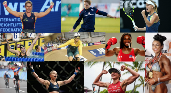 10 Most Inspiring Sports Women of 2018