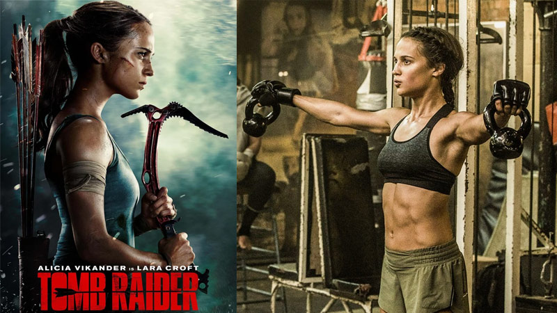 Photo of Alicia Vikander Tomb Raider Diet and Workout