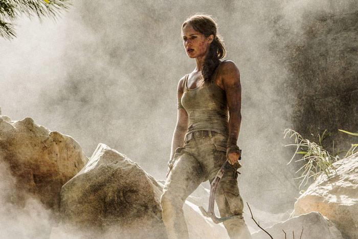 Tomb Raiders Alicia Vikander as lara croft in latest movie