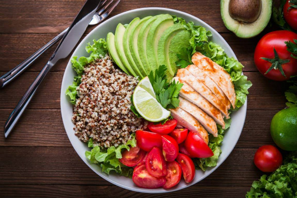 healthy eating plate example