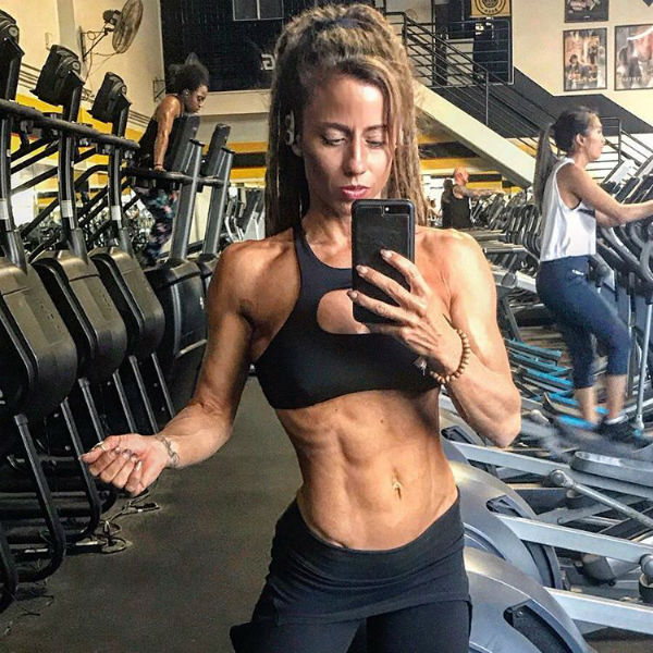 female bodybuilding vegan diet