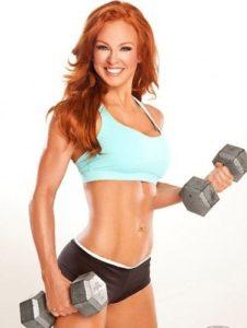 Women fitness bodybuilding-