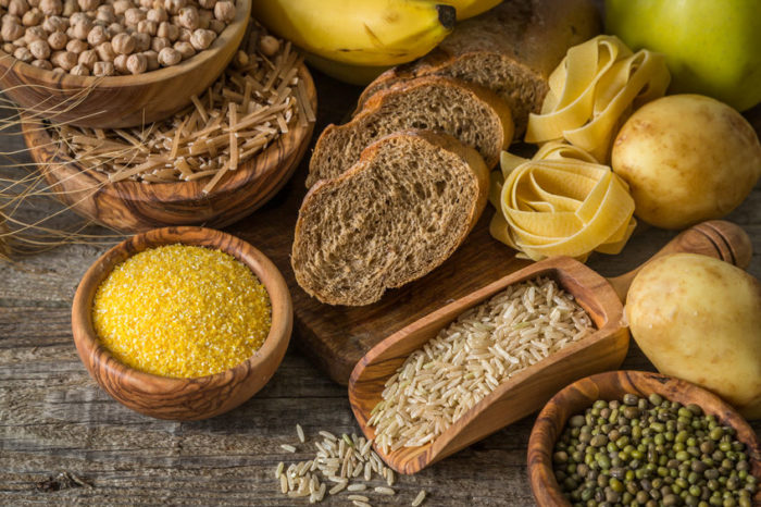 A selection of carbohydrates