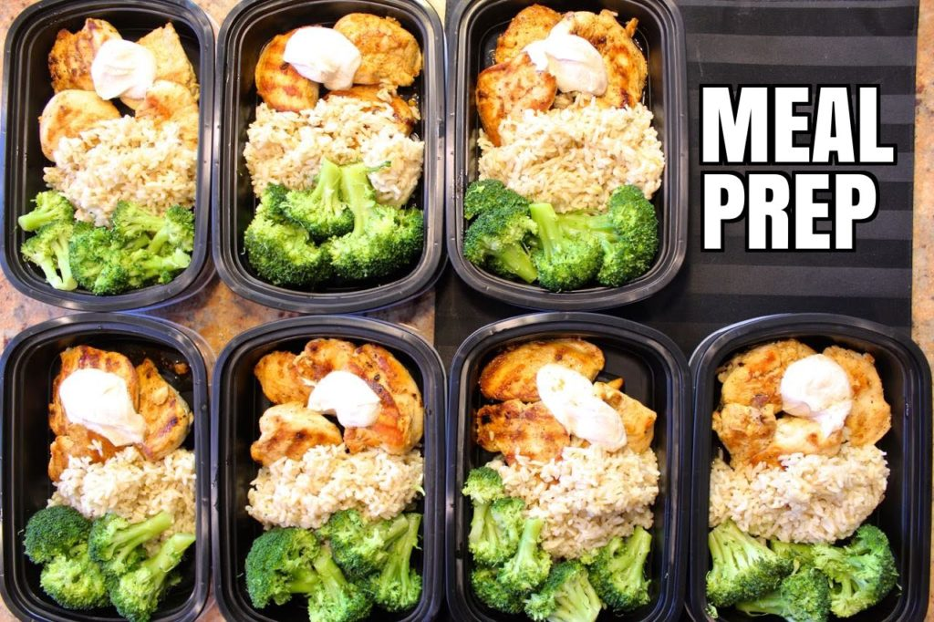 Meal prep process