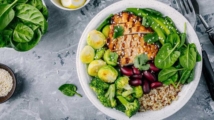 healthy IIFYM meal