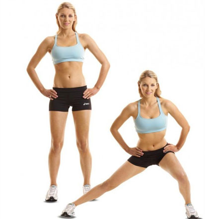 Lateral-squats