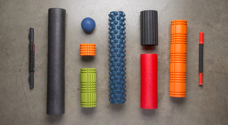 various types of foam roller