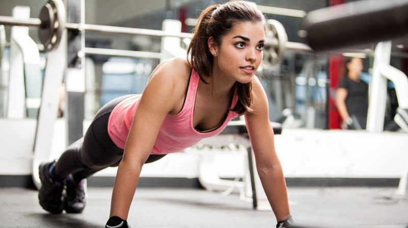 fit and healthy young woman with healthy testosterone levels