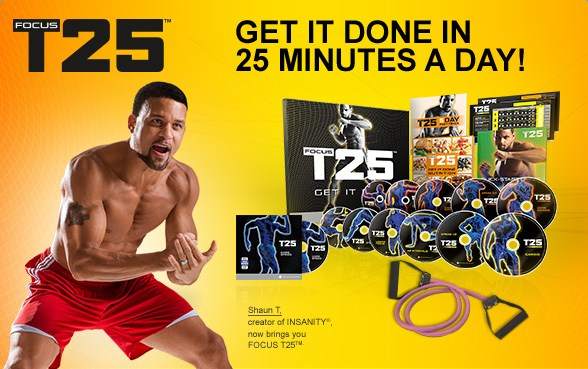 Focus T25 workout package