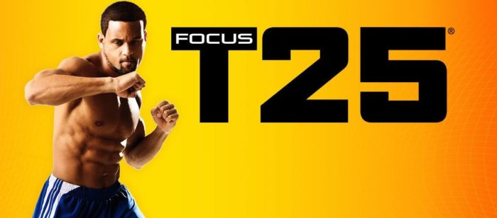 focus T25 in the best workout programs for women review