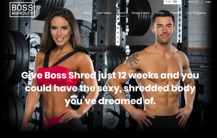 shred workout program