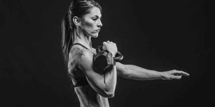 kettlebell clean as a hiit exercise
