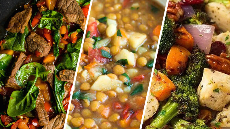 Photo of 3 Healthy Meal Prep Recipes to Help You Stick to Your Diet