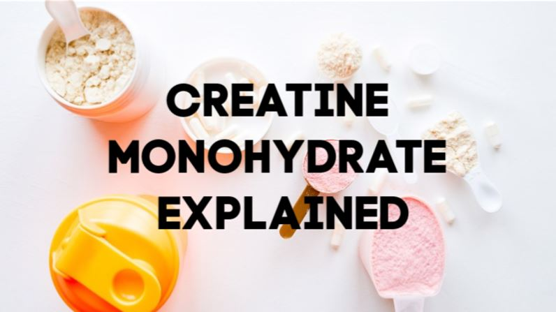 creatine monohydrate explained