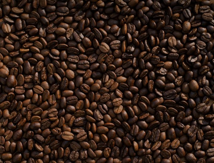 coffeee beans to represent caffeine as a thermogenic fat burner