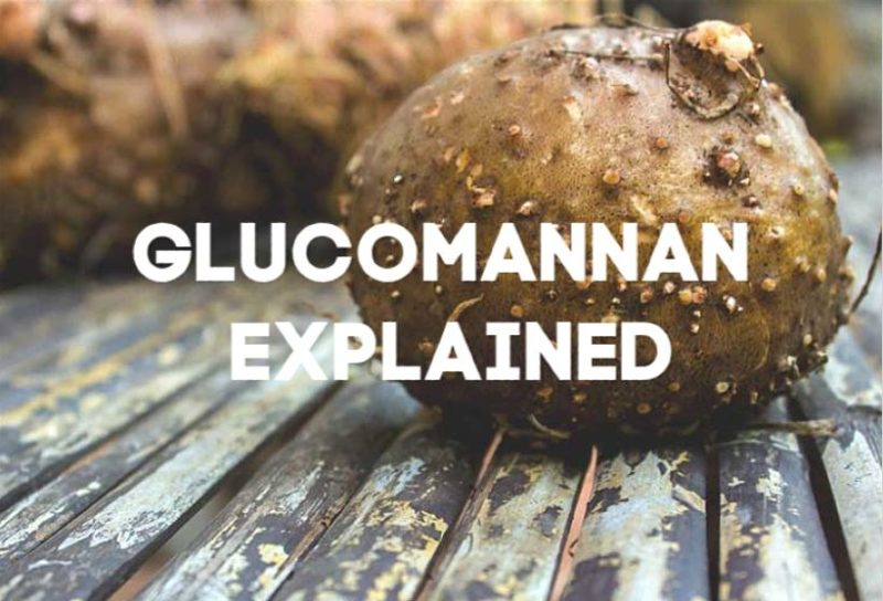 glucomannan explained