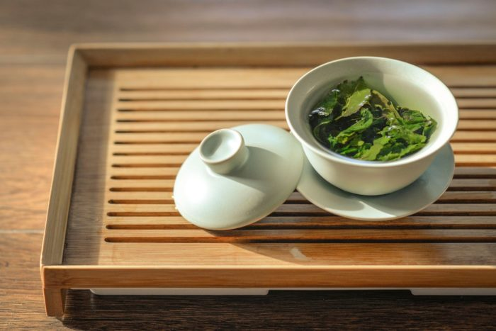 green tea brewing as a thermogenic fat burner