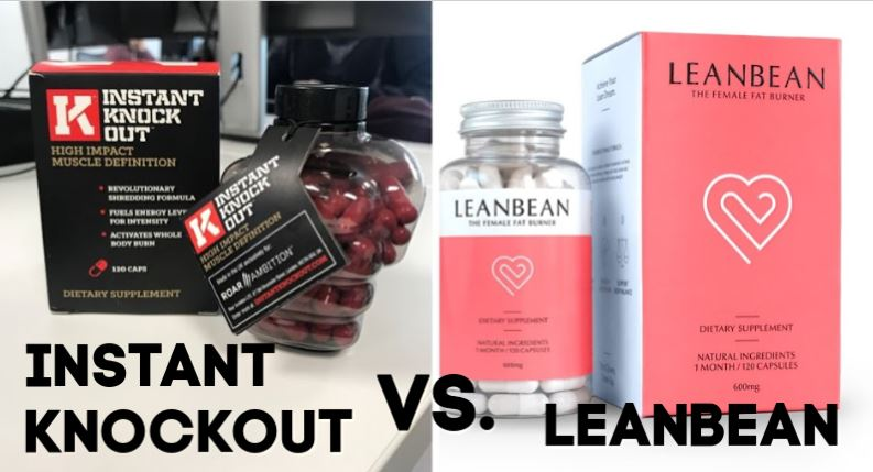Instant knockout vs leanbean review feature image