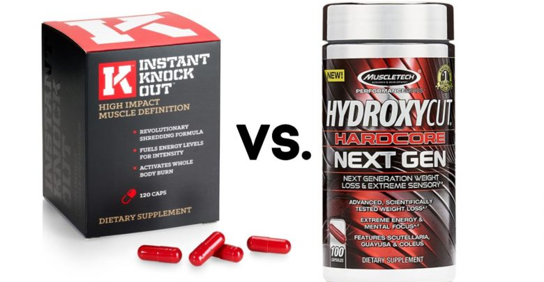 instant knockout vs hydroxycut review