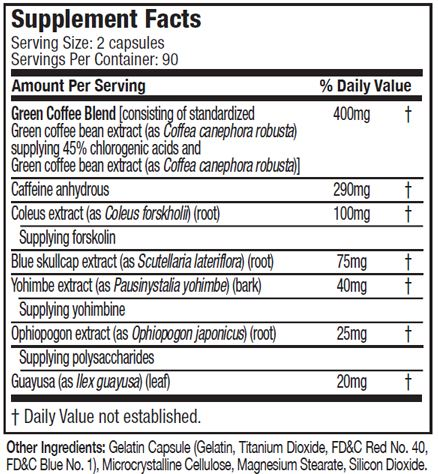 hydroxycut supplement facts in instant knockout vs hydroxycut review