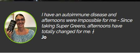 SuperGreen Tonik Testimonial - Jo