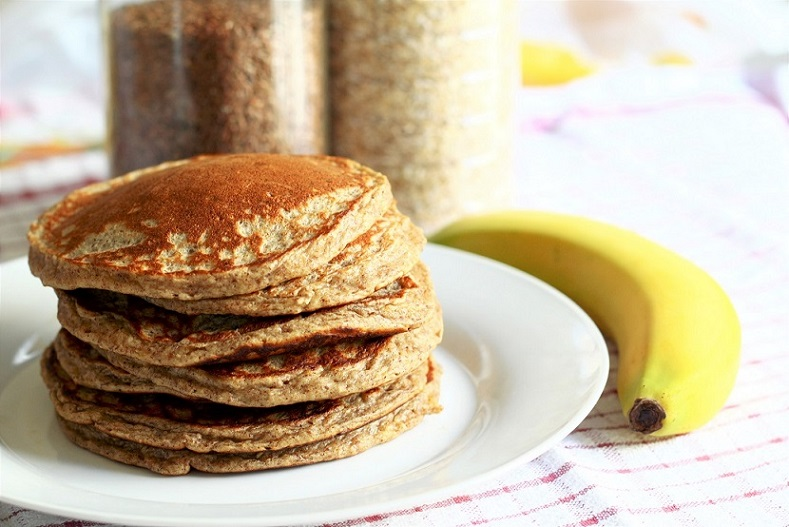 Banana healthy pancake recipes