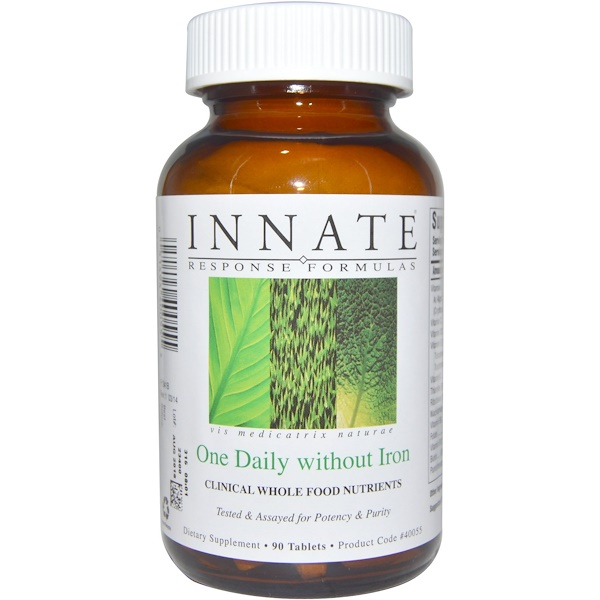 Bottle of INNATE Response Formulas – Women's One Daily
