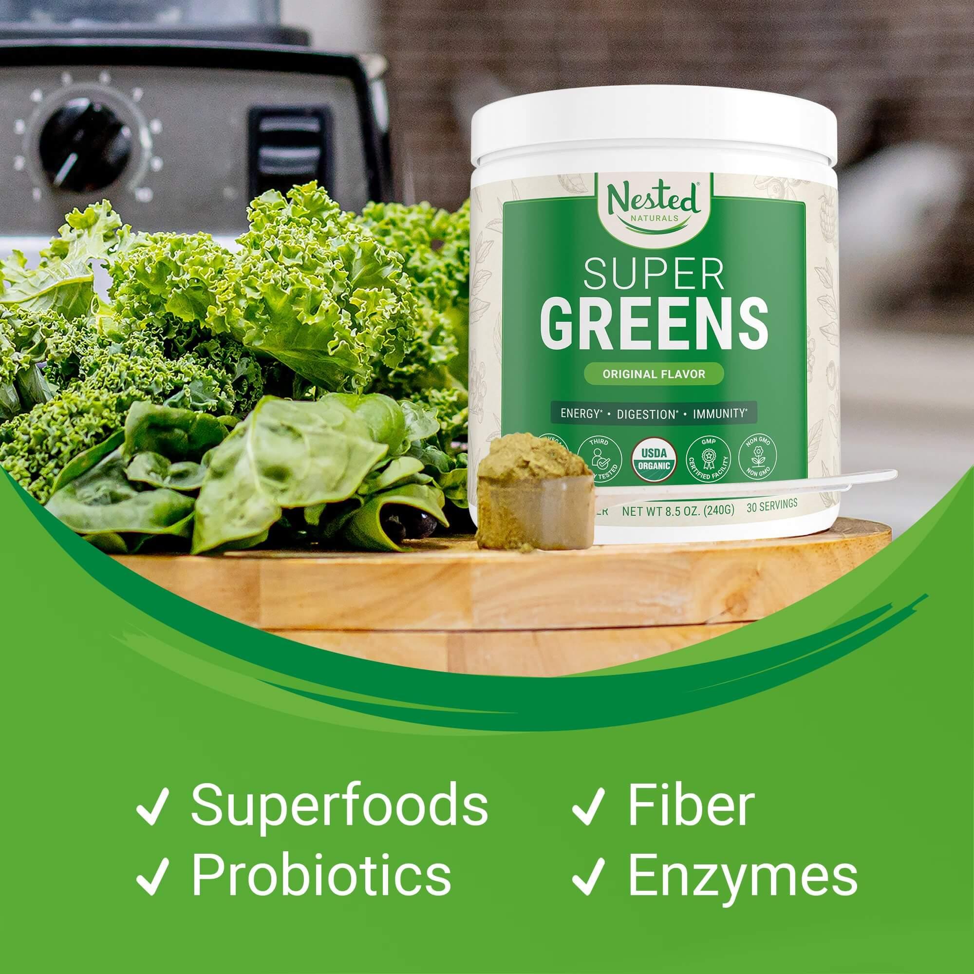 Nested Naturals Best Super Greens