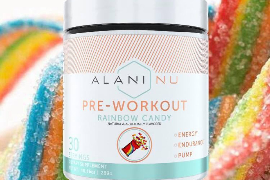 Alani Nu Pre-workout rainbow candy