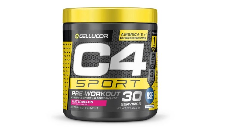 C4 sport pre-workout review