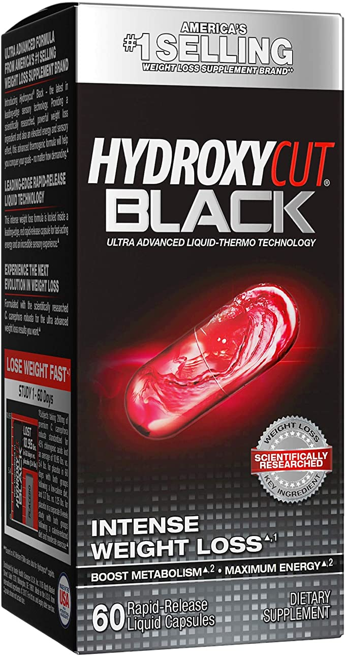 Hydroxycut black review