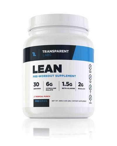 LEAN Pre Workout review