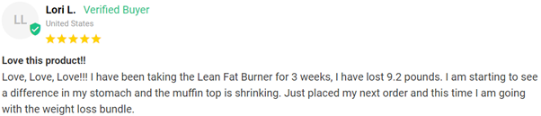 Lean Fat Burner for Her Review4