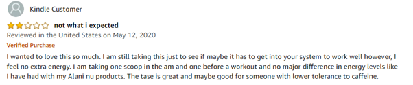 Oxyshred Thermogenic review Amazon2