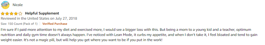 LeanMode Review 2021 - Is this stim-free fat burner effective? 8